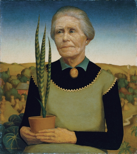 Grant Wood comes alive at Whitney Museum